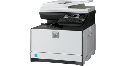 Принтер SHARP MFP MX-6240N 62 PPM, DSPF (150 sheets), HDD 1TB, 5 GB RAM, 2x500-sheet paper tray, 100-sheet bypass + 2000-sheet LCT