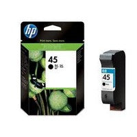 Консуматив HP 45 Value Original Ink Cartridge; Black;  Page Yield 930;  HP DeskJet  710;720;815;820;850;880;890;895;930;950;959;960;970;980;990;1100;1120;1125;1180;1220;1280;1600;6122;9300