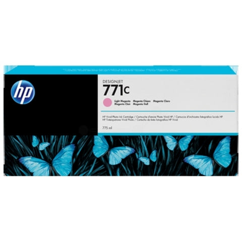Консуматив HP 771C 1-pack Original Ink Cartridge; Light Magenta;  ; HP DesignJet Z6200