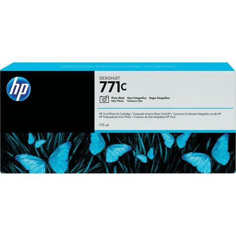 Консуматив HP 771C 1-pack Original Ink Cartridge; Photo Black;  ; HP DesignJet Z6200