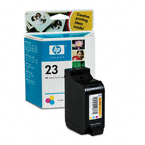 Консуматив HP 23 Value Original Ink Cartridge; Tri-Color;  Page Yield 620; HP DeskJet 710/720/810/815/880/890/895/1120/1125/HP OfficeJet t45/ t65/r40/45/60/65/1170
