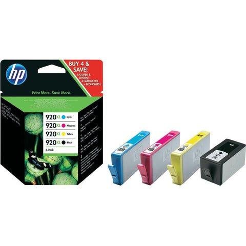 Консуматив HP 920X Combo 4Pack Original Ink Cartridge; CMYK;  Page Yield 1200/700/700/700; HP Officejet 7500A/6500