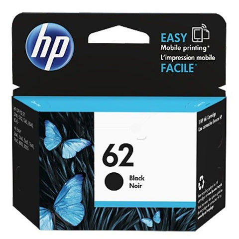 Консуматив HP 62 Standard Original Ink Cartridge; Black;  Page Yield 200; HP ЕNVY 5640; 7640
