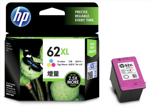 Консуматив HP 62X Value Original Ink Cartridge; CMY;  Page Yield 415; HP ЕNVY 5640; 7640