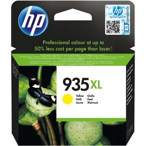 Консуматив HP 935XL Value Original Ink Cartridge; Yellow;  Page Yield 825; HP OfficeJet Pro 6230; 6830