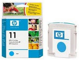 Консуматив HP 11 Standard Original Ink Cartridge; Cyan;  Page Yield 2350; HP InkJet 1700; 9110; 9120; 9130;K850;1000;1100; 1200; 2200;  2250; 2280; 2300; 2600;2800