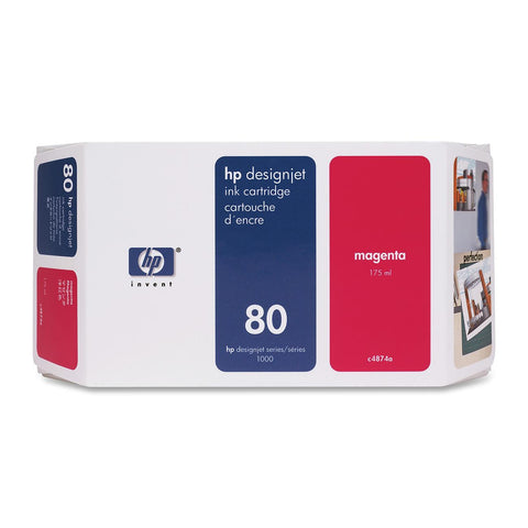 Консуматив HP 80 Standard Original Ink Cartridge; Magenta;  ; HP DesignJet 1050, 1055