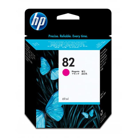 Консуматив HP 82 Standard Original Ink Cartridge; Magenta;  ; HP DesignJet 10, 20, 50, 120, 500, 510, 800