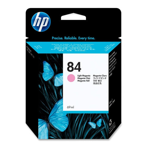Консуматив HP 84 Standard Original Ink Cartridge; Light Magenta ;  ; HP DesignJet 10, 20, 50, 120