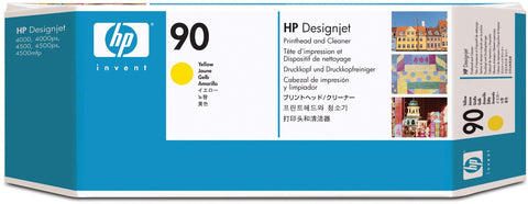 Консуматив HP 90 Standard Original Ink Cartridge; Yellow;  ; HP DesignJet 4000, 4020, 4500, 4520