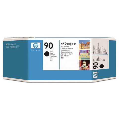 Консуматив HP 90 Standard Original Ink Cartridge; Black 775 ml;  ; HP DesignJet 4000, 4020, 4500, 4520