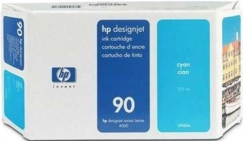 Консуматив HP 90 Standard Original Ink Cartridge; Cyan 250 ml;  ; HP DesignJet 4000, 4020, 4500, 4520