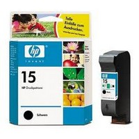 Консуматив HP 15 Value Original Ink Cartridge; Black;  Page Yield 500; HP DeskJet 810c; 825c; 840c; 843c; 845c; 920c; 940c; 3810; 3816;  3820; 3822; 500; 720; 750; 760; 950; 5110