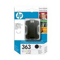 Консуматив HP 363 Standard Original Ink Cartridge; Black;  Page Yield 410; HP PhotoSmart 3110; 3210; 3310 ; C5180; D6160; C6180; C6270; C6280; C6285; D7160; C7180; D7260; C7280; D7360; D7460; C8180; 8250