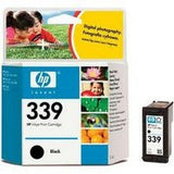 Консуматив HP 339 Standard Original Ink Cartridge; Black;  Page Yield 860; HP DeskJet  460 5740 5745 6520 6620 6540 6840 9800 1507 1510 1600 1610  2350 2355  100 150 K7100 7210 7310 7410 2575 2610  2710 C3170 C3180 C3190 7850 8150  8450 8450gp