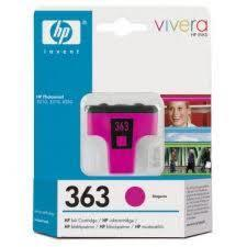 Консуматив HP 363 Standard Original Ink Cartridge; Magenta;  Page Yield 370; HP DeskJet  460 5740 5745 6520 6620 6540 6840 9800 1507 1510 1600 1610  2350 2355  100 150 K7100 7210 7310 7410 2575 2610  2710 C3170 C3180 C3190 7850 8150  8450 8450gp