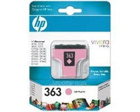 Консуматив HP 363 Standard Original Ink Cartridge; Light Magenta;  Page Yield 230; HP DeskJet  460 5740 5745 6520 6620 6540 6840 9800 1507 1510 1600 1610  2350 2355  100 150 K7100 7210 7310 7410 2575 2610  2710 C3170 C3180 C3190 7850 8150  8450 8450gp