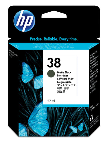 Консуматив HP 38 Standard Original Ink Cartridge; Black;  Page Yield 3200; HP PhotoSmart B8850; B9180; B9180gp