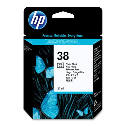 Консуматив HP 38 Standard Original Ink Cartridge; Black;  Page Yield 1340; HP PhotoSmart B8850; B9180; B9180gp
