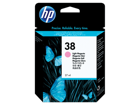 Консуматив HP 38 Standard Original Ink Cartridge; Magenta;  Page Yield 440; HP PhotoSmart B8850; B9180; B9180gp