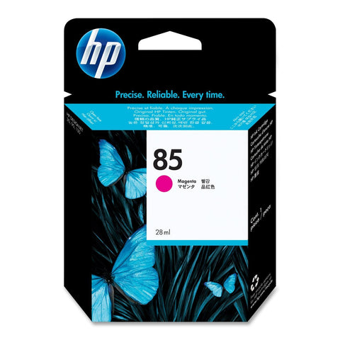 Консуматив HP 85 Standard 1-Pack Original Ink Cartridge; Magenta 28 ml;  ; HP DesignJet 30, 90, 130