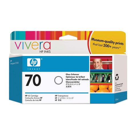 Консуматив HP 70 Standard 1-Pack Original Ink Cartridge; Gloss Enhancer;  ; HP DesignJet Z3100, Z3200