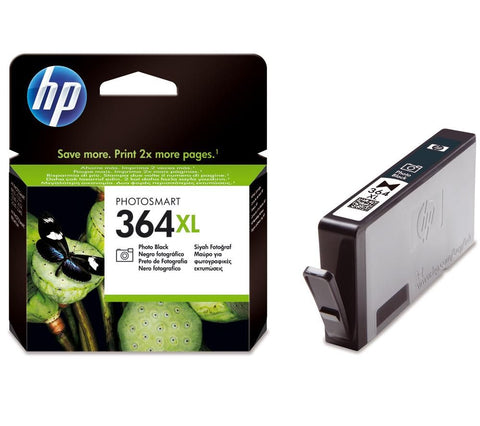 Консуматив HP 364XL Value Original Ink Cartridge; Black;  Page Yield 290;  HP PhotoSmart C5380; D5460; C6380; 7510; B8550; C309g; C510a