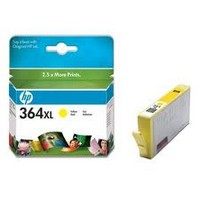 Консуматив HP 364XL Value Original Ink Cartridge; Yellow;  Page Yield 750; HP DeskJet 3070A; B010a; C5380; D5460; 5510; 5515; C6380; 6510; B8550; B110e; B209a;  B210a;  C309n; C310a; C410b; C510a;
