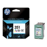 Консуматив HP 351 Standard Original Ink Cartridge; Tri-Color;  Page Yield 170; HP Officejet K7100; 460; 5740; 6540; 6620; 6840; 9800; 100