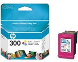 Консуматив HP 300 Standard Original Ink Cartridge; Tri-Color;  Page Yield 165; HP DeskJet D1660; F2420; F2480; F2492; D2560; D2660; F4210; F4272; F4280; F4580; D5560; C4670; C4680; C4685; C4780; D410a;  D411a