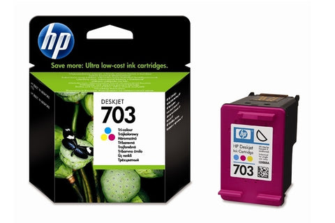 Консуматив HP 703  Standard Original Ink Cartridge; Tri-Color;  Page Yield 250;  HP Deskjet F735; K109a