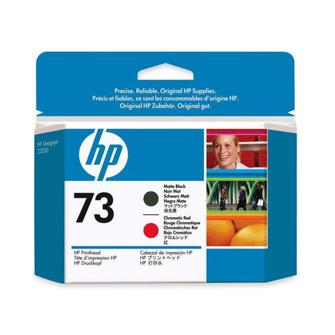 Консуматив HP 73 Standard 1-Pack Original Ink Cartridge; Matte Black + Chromatic Red ;  ; HP DesignJet Z3200