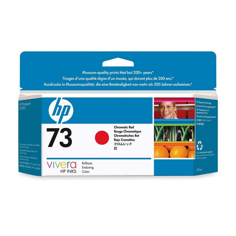 Консуматив HP 73 Standard 1-Pack Original Ink Cartridge; Chromatic Red;  ; HP DesignJet Z3200