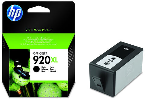 Консуматив HP 920XLValue Original Ink Cartridge; Black;  Page Yield 1200; HP OfficeJet 6000; 6500; 7000; 7500A