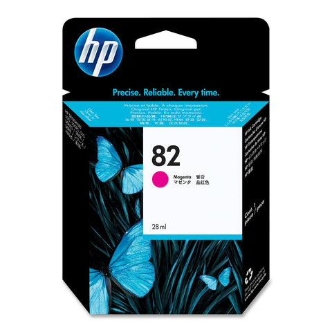 Консуматив HP 82 Standard 1-Pack Original Ink Cartridge; Magenta 25 ml;  ; HP Designjet 510; 500; 800