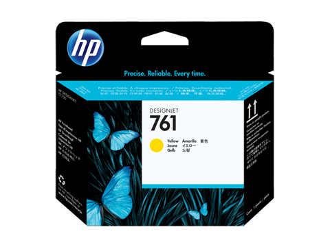 Консуматив HP 761 Standard 1-Pack Original Ink Cartridge; Yellow;  ; HP DesignJet T7100