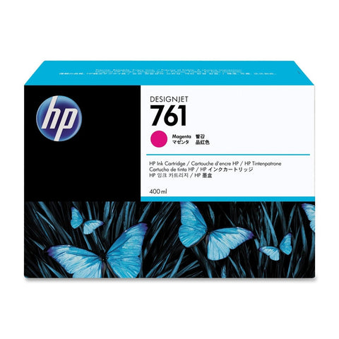Консуматив HP 761 Standard 1-Pack Original Ink Cartridge; Magenta;  ; HP DesignJet T7100