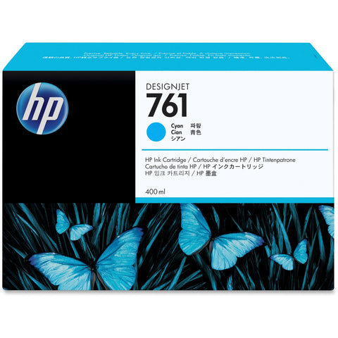Консуматив HP 761 Standard 1-Pack Original Ink Cartridge; Cyan;  ; HP DesignJet T7100