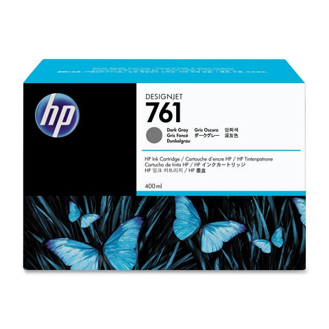 Консуматив HP 761 Standard 1-Pack Original Ink Cartridge; Dark Grey;  ; HP DesignJet T7100