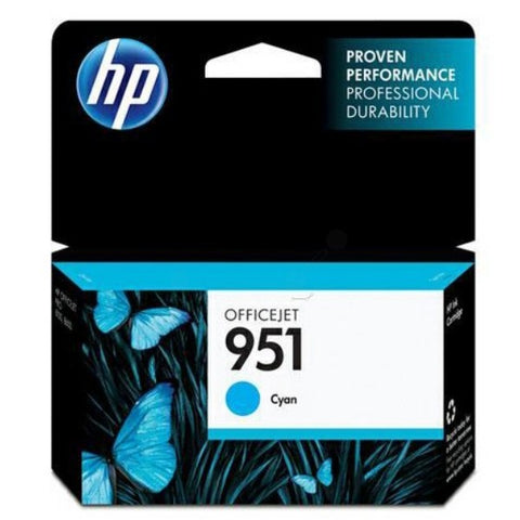 Консуматив HP 951 Standard Original Ink Cartridge; Cyan;  Page Yield 700; HP OfficeJet Pro 251; 276; 8100; 8600