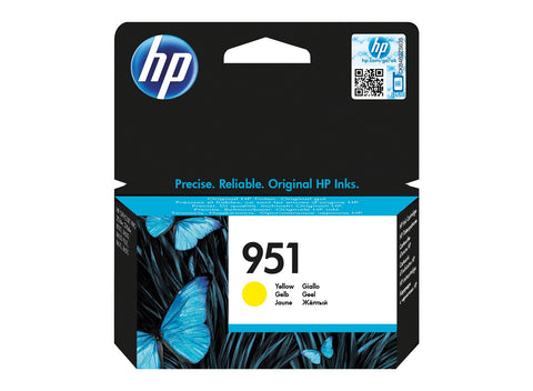Консуматив HP 951 Standard Original Ink Cartridge; Yellow;  Page Yield 700; HP OfficeJet Pro 251; 276; 8100; 8600