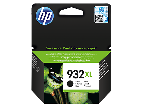 Консуматив HP 932XL Value Original Ink Cartridge; Black;  Page Yield 1000; HP OfficeJet 6100; 6600; 6700; 7110; 7610