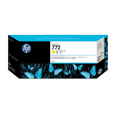 Консуматив HP 772 Standard 1-Pack Original Ink Cartridge; Yellow;  ; HP DesignJet Z5200, Z5400