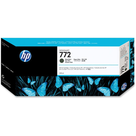 Консуматив HP 772 Standard 1-Pack Original Ink Cartridge; Matte Black;  ; HP DesignJet Z5200, Z5400