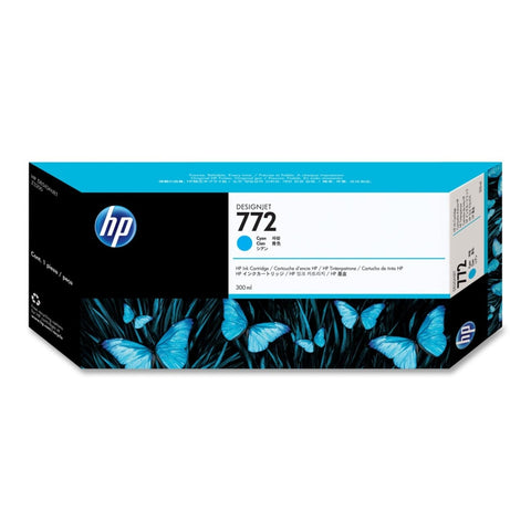 Консуматив HP 772 Standard 1-Pack Original Ink Cartridge; Cyan;  ; HP DesignJet Z5200, Z5400