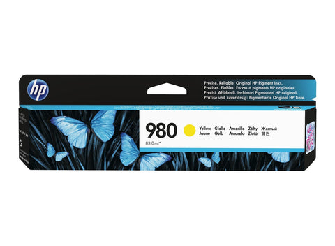 Консуматив HP 980 Standard 1-Pack Original Ink Cartridge; Yellow;  Page Yield 6600; HP OfficeJet Enterprise Color X555