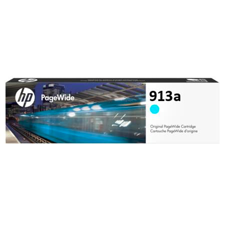 Консуматив HP 913A Standard Original Ink Cartridge; Cyan;  Page Yield 3000; HP Page Wide Pro 352; 377; 477;