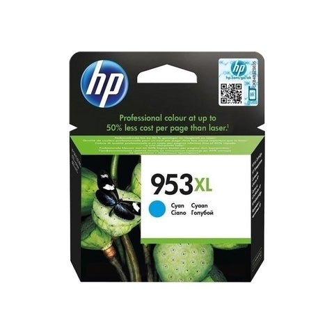 Консуматив HP 953XL Value Original Ink Cartridge; Cyan;  Page Yield 1600; HP OfficeJet Pro 7740; 8210; 8218; 8710; 8715; 8720; 8725; 8730