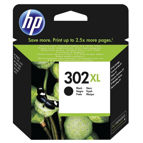 Консуматив HP 302XL Value Original Ink Cartridge; Black;  Page Yield 480;  HP DeskJet 1110 ; 2130 All-in-One; 3630;  HP ENVY 4520 All-in-One Printer; HP OfficeJet 3830/ 4650;