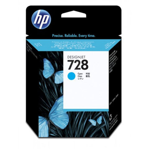 Консуматив HP 728 Standard 1-Pack Original Ink Cartridge; Cyan;  ; HP DesignJet T730, T830